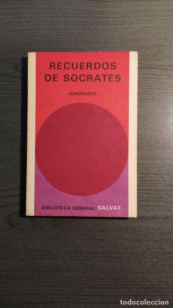 RECUERDOS DE SOCRATES. JENOFONTE. BIBLIOTECA GENERAL SALVAT (Libros de Segunda Mano - Pensamiento - Filosofía)