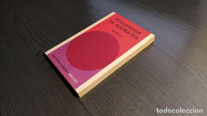 Libros de segunda mano: RECUERDOS DE SOCRATES. JENOFONTE. BIBLIOTECA GENERAL SALVAT - Foto 3 - 180013230