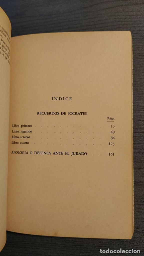 Libros de segunda mano: RECUERDOS DE SOCRATES. JENOFONTE. BIBLIOTECA GENERAL SALVAT - Foto 8 - 180013230