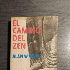 Libros de segunda mano: EL CAMINO DEL ZEN ALAN WATTS. POCKET EDHASA,. Lote 180014636