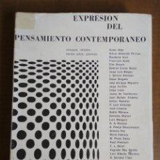 Libros de segunda mano: EXPRESIÓN DEL PENSAMIENTO CONTEMPORÁNEO REVISTA CUADERNOS DEL CONGRESO POR LA LIBERTAD DE LA CULTURA. Lote 180106592