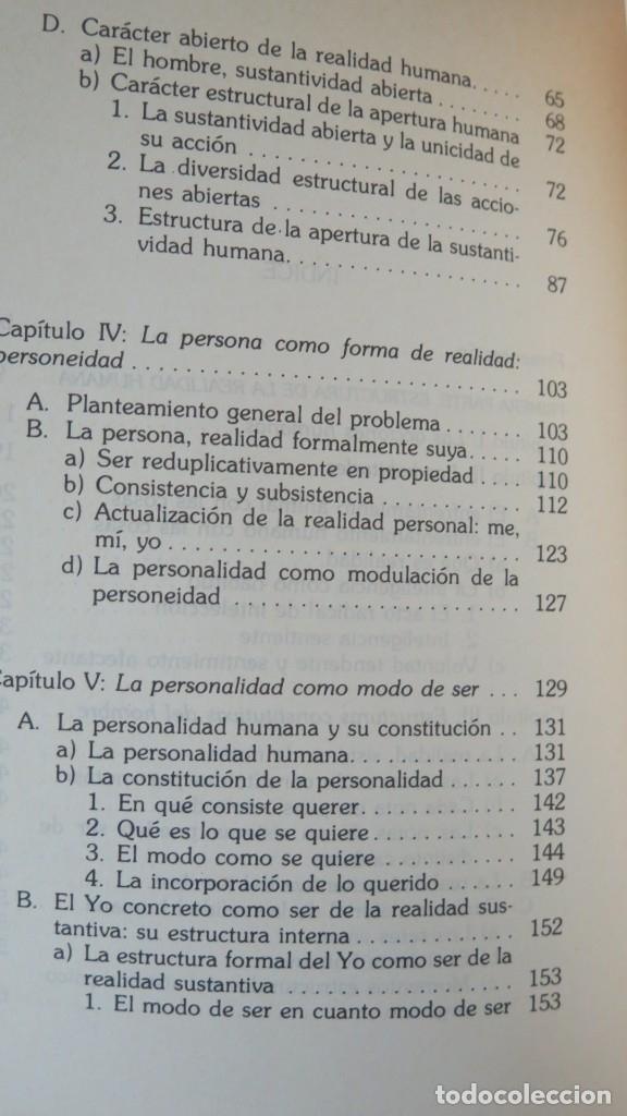 Libros de segunda mano: SOBRE EL HOMBRE. ZUBIRI - Foto 3 - 180114848