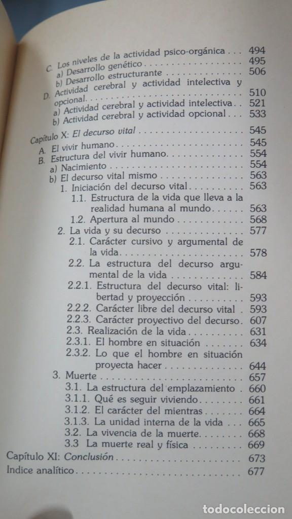 Libros de segunda mano: SOBRE EL HOMBRE. ZUBIRI - Foto 6 - 180114848