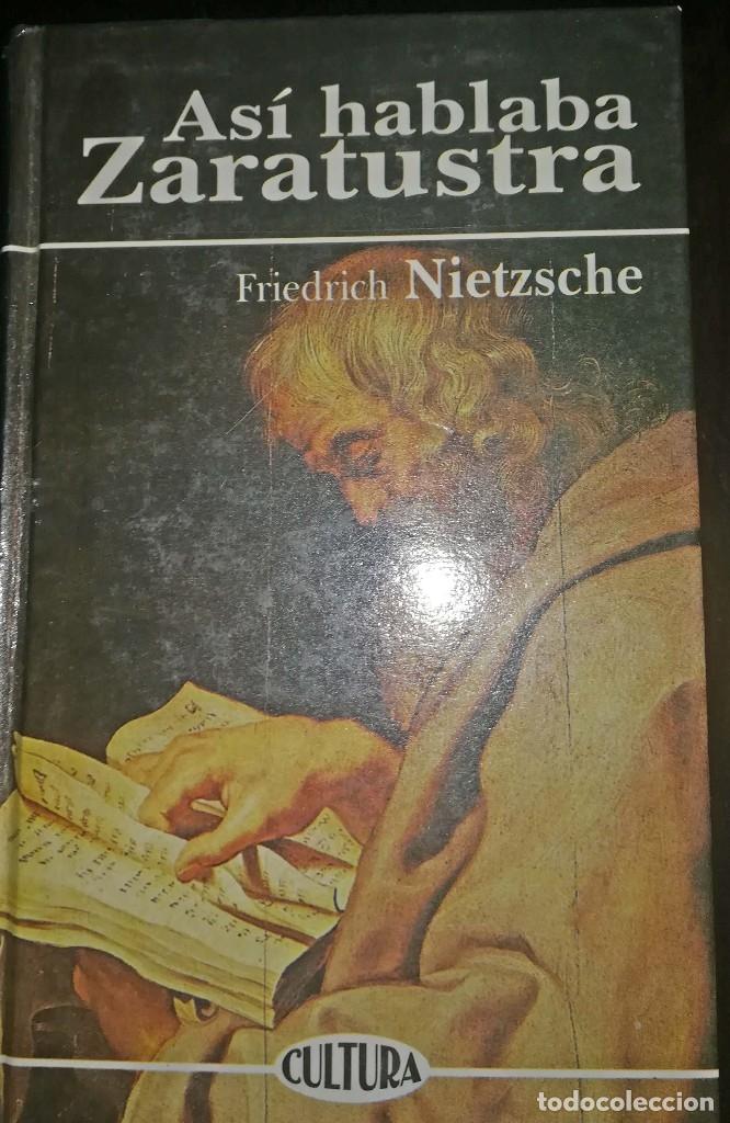 ASÍ HABLABA ZARATUSTRA - FRIEDRICH NIETZSCHE (Libros de Segunda Mano - Pensamiento - Filosofía)