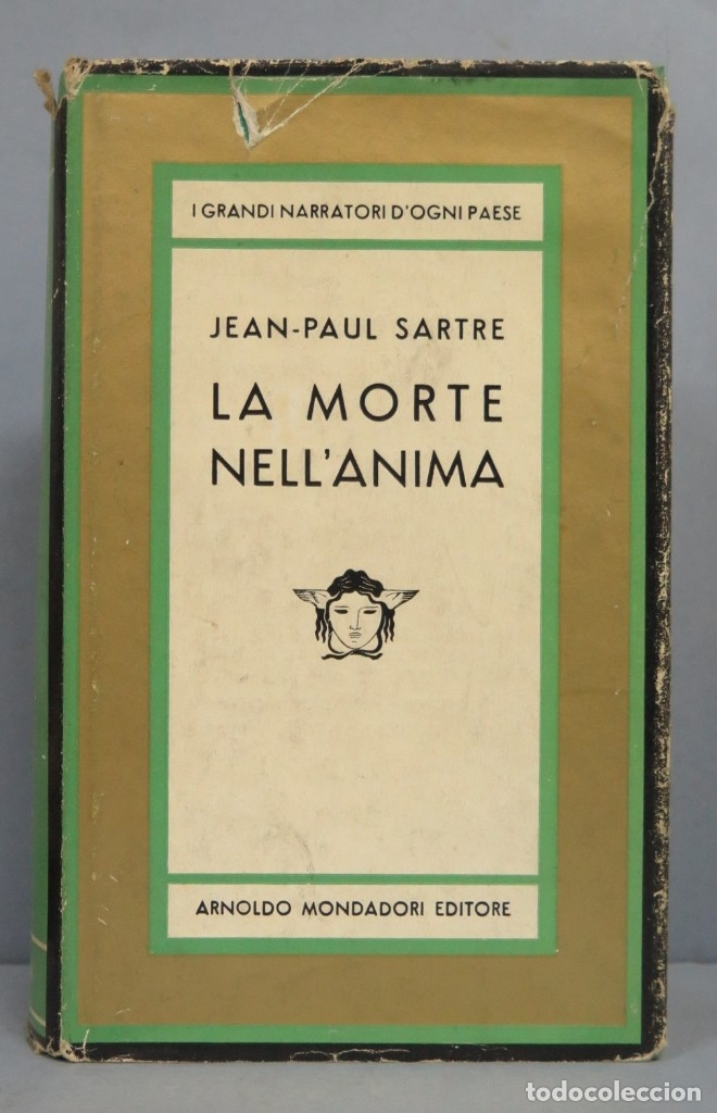 LA MORTE NELL'ANIMA. JEAN-PAUL SARTRE (Libros de Segunda Mano - Pensamiento - Filosofía)