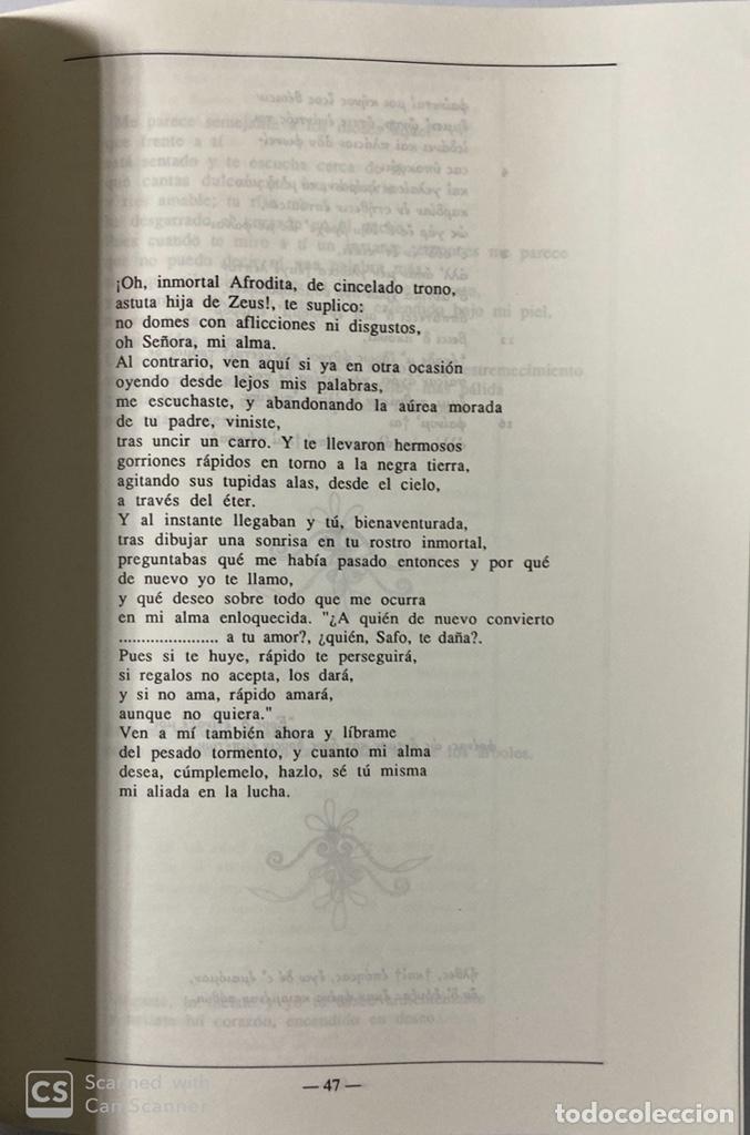 Libros de segunda mano: PAROLE. REVISTA DE CREACION LITERARIA Y DE FILOLOGIA. Nº 1. MADRID, 1988. PAGS: 202. - Foto 4 - 180339597