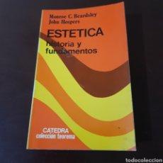Libros de segunda mano: ESTETICA HISTORIA Y FUNDAMENTOS - MONROE BEARDSLEY - JOHN HOSPERS. Lote 180427008