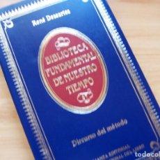 Libros de segunda mano: DISCURSO DEL MÉTODO, DE RENE DESCARTES. BIBLIOTECA FUNDAMENTAL DE NUESTRO TIEMPO. Lote 180427885