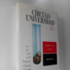 Libros de segunda mano: BIOÉTICA - MARCIANO VIDAL. Lote 180836140