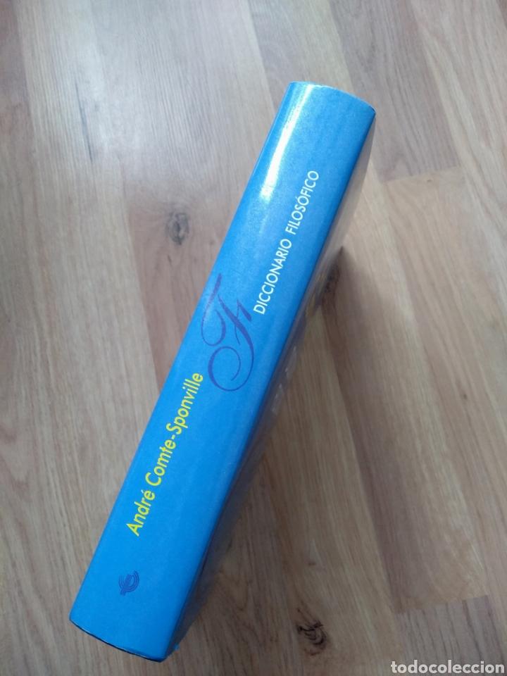 Libros de segunda mano: Diccionario filosófico. André Comte-Sponville. - Foto 2 - 181457492