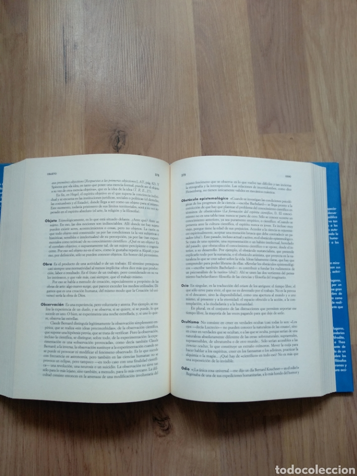 Libros de segunda mano: Diccionario filosófico. André Comte-Sponville. - Foto 4 - 181457492