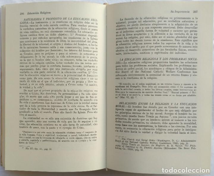 Libros de segunda mano: FILOSOFIA CATOLICA DE LA EDUCACION. REDDEN & RYAN - Foto 4 - 181503265