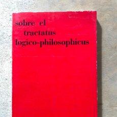 Libros de segunda mano: SOBRE EL TRACTATUS LOGICO PHILOSOPHICUS. REVISTA TEOREMA. NÚMERO MONOGRÁFICO. 1972.. Lote 182362300