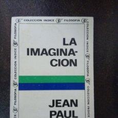 Libros de segunda mano: JEAN-PAUL SARTRE: LA IMAGINACIÓN. Lote 182393741