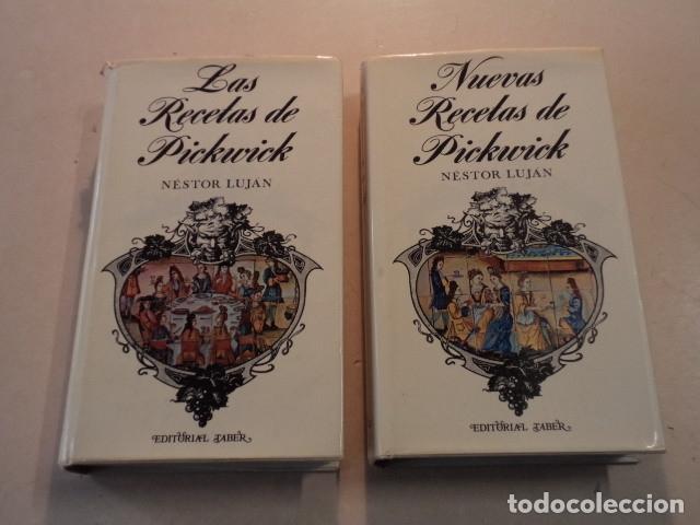 LAS RECETAS DE PICKWICK Y NUEVAS RECETAS DE PICKWICK - NÉSTOR LUJÁN (Libros de Segunda Mano - Pensamiento - Filosofía)