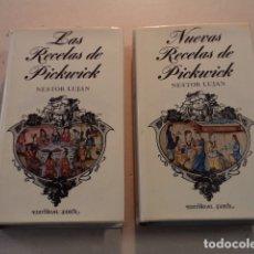 Libros de segunda mano: LAS RECETAS DE PICKWICK Y NUEVAS RECETAS DE PICKWICK - NÉSTOR LUJÁN. Lote 182578068