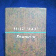 Libros de segunda mano: BLAISE PASCAL - PENSAMIENTOS - TRADUCCIÓN DE MARIO PARAJÓN. Lote 195191311
