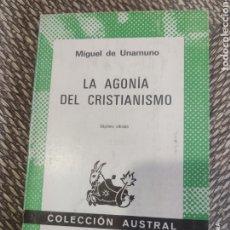 Libros de segunda mano: LA AGONÍA DEL CRISTIANISMO. Lote 182758895