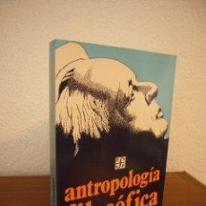 Libros de segunda mano: ERNST CASSIRER: ANTROPOLOGÍA FILOSÓFICA (FCE, 1983) EXCELENTE ESTADO. Lote 182971327