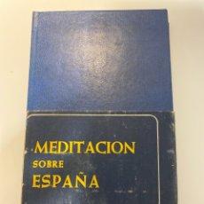 Libros de segunda mano: MEDITACION SOBRE ESPAÑA. ANGEL HERRERA. BIBLIOTECA AUTORES CRISTIANOS. MADRID, 1976.PAGS:271. Lote 183008291