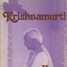 Libros de segunda mano: KRISHNAMURTI Y LA EDUCACIÓN . Lote 183278602