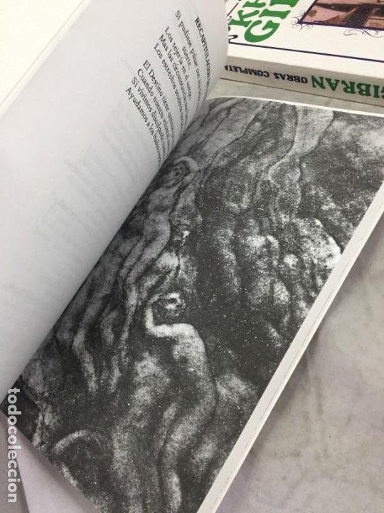Libros de segunda mano: Khalil Gibran OBRAS COMPLETAS TRES VOLUMENES, 1988 EDICOMUNICACION - Foto 7 - 183550690