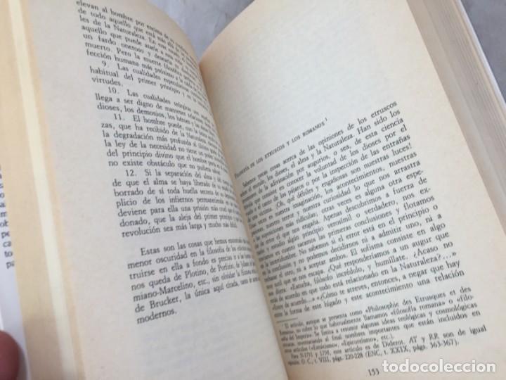 Libros de segunda mano: LA HISTORIA DE LA FILOSOFÍA EN LA ENCICLOPEDIA. DIDEROT. EDICIÓN PREPARADA POR JOSÉ MANUEL BERMUDO - Foto 11 - 205087971