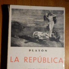 Libros de segunda mano: LIBRO - LA REPÚBLICA - PLATÓN - TOMO II - LIBRERÍA BERGUA -. Lote 183848183