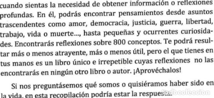 Libros de segunda mano: REFLEXIONES ALFABETICAS. COGITO ERGO SUM. JOSE CARLOS ESPINOSA ( VIGO ). NUEVO. - Foto 3 - 183859407