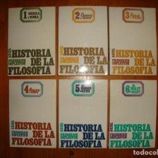 Libros de segunda mano: HISTORIA DE LA FILOSOFÍA. TOMOS 1 A 6 - FREDERICK COPLESTON - EDICIONES ARIEL. Lote 183909168