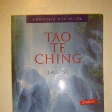 Libros de segunda mano: TAO TE CHING -. LAO TSE - EL LIBRO CLÁSICO DE LA SABIDURÍA CHINA - 2ª EDICIÓN OCEANO AMBAR 2005. Lote 183960047
