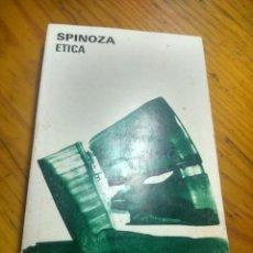 Livros em segunda mão: HOS. SPINOZA. ETICA. EDITORIAL AGUILAR. Lote 184894256