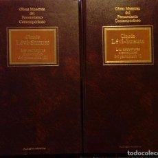 Libri di seconda mano: LAS ESTRUCTURAS ELEMENTALES DEL PARENTESCO. CLAUDE LÉVI STRAUSS ( 2 TOMOS ). Lote 185890871