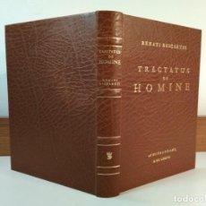 Libros de segunda mano: TRACTATUS DE HOMINE. TRATADO DEL HOMBRE. EDICIÓN ESPECIAL DE BIBLIÓFILO. DESCARTES, RENATI. . Lote 186189582