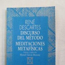 Libros de segunda mano: RENE DESCARTES DISCURSO DEL METODO MEDITACIONES METAFISICAS AUSTRAL. Lote 186227963