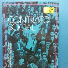 Libros de segunda mano: CONTRATO SOCIAL. JUAN JACOBO ROUSSEAU. EDITORIAL ESPASA CALPE S.A.. Lote 186304770