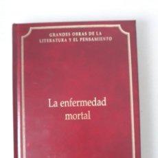 Libros de segunda mano: SÖREN KIERKEGAARD: LA ENFERMEDAD MORTAL. Lote 186314113