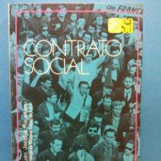 Libri di seconda mano: CONTRATO SOCIAL. JUAN JACOBO ROUSSEAU. EDITORIAL ESPASA CALPE S.A.. Lote 187080565