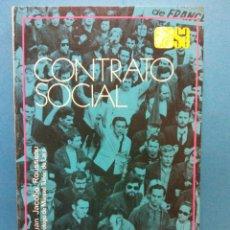 Libri di seconda mano: CONTRATO SOCIAL. JUAN JACOBO ROUSSEAU. EDITORIAL ESPASA CALPE S.A.. Lote 187080603