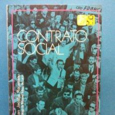 Libri di seconda mano: CONTRATO SOCIAL. JUAN JACOBO ROUSSEAU. EDITORIAL ESPASA CALPE S.A.. Lote 187081203