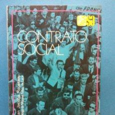 Libri di seconda mano: CONTRATO SOCIAL. JUAN JACOBO ROUSSEAU. EDITORIAL ESPASA CALPE S.A.. Lote 187081623