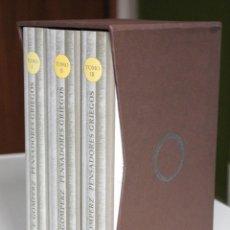 Libros de segunda mano: THEODOR GOMPERZ - PENSADORES GRIEGOS. UNA HISTORIA DE LA FILOSOFÍA DE LA ANTIGÜEDAD. 3 TOMOS -HERDER. Lote 187215446