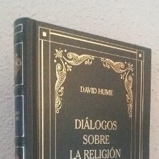 Libros de segunda mano: HUME, DAVID: DIÁLOGOS SOBRE LA RELIGIÓN NATURAL (RBA) (LB). Lote 187428670