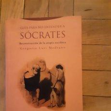 Libros de segunda mano: GUIA PARA NO ENTENDER A SÓCRATES-GREGORIO LURI MEDRANO-TROTTA EDITORIAL. Lote 188449172
