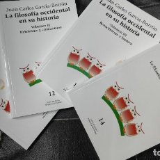 Livres d'occasion: LA FILOSOFIA OCCIDENTAL EN SU HISTORIA 4 TOMOS ( JUAN CARLOS GARCIA - BORRON ). Lote 189152881