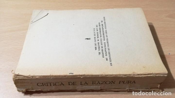 Libros de segunda mano: CRITICA DE LA RAZON PURA- ENMANUEL KANT - PROLEGOMENOS A TODA METAFISICA FUTURA - 1934 BERGUA / J - Foto 2 - 190445730