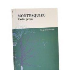 Libri di seconda mano: CARTAS PERSAS - MONTESQUIEU. Lote 190616378