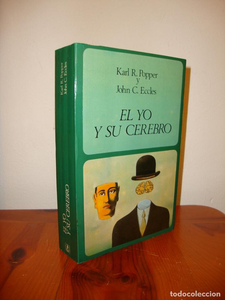 EL YO Y SU CEREBRO - KARL R. POPPER Y JOHN C. ECCLES - LABOR, RARO (Libros de Segunda Mano - Pensamiento - Filosofía)