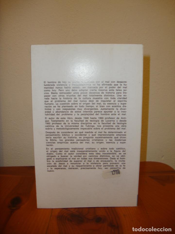 Libros de segunda mano: EL PROBLEMA DEL MAL - HERBERT HAAG - HERDER, EXCELENTE ESTADO - Foto 3 - 190634246