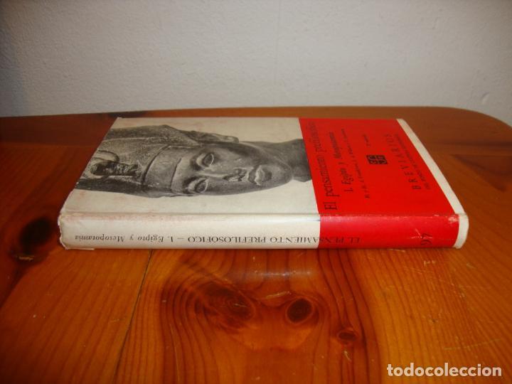 Libros de segunda mano: EL PENSAMIENTO PREFILOSÓFICO. 1. EGIPTO Y MESOPOTAMIA - FCE - Foto 2 - 190634557